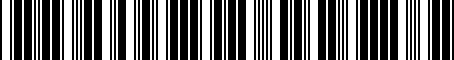 Barcode for PT27834073