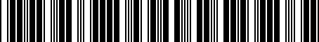 Barcode for PT73860013