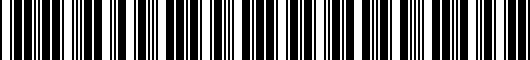 Barcode for PT9084816502
